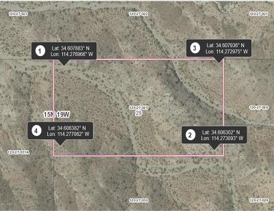 Lake Havasu City Residential Lots & Land For Sale: 20 Acres Lone Tree Mtn Rd