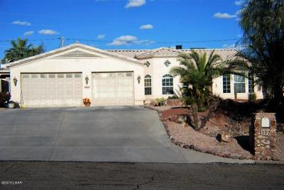 Lake Havasu City Single Family Home For Sale: 102 Keywester Dr