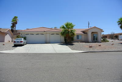 Lake Havasu City Single Family Home For Sale: 2810 Pony Dr