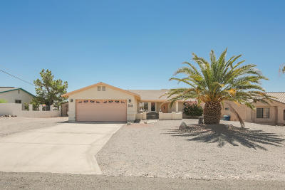 Lake Havasu City Single Family Home For Sale: 3754 Comet Dr