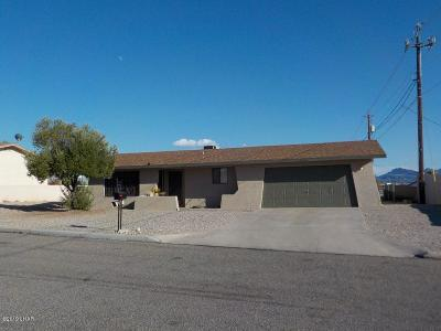 Lake Havasu City Single Family Home For Sale: 2696 Tradewind Dr