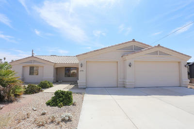 Lake Havasu City Single Family Home For Sale: 2970 Kiowa Blvd N