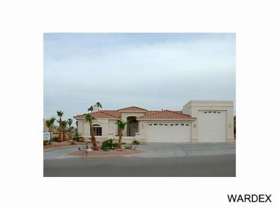 Lake Havasu City Single Family Home For Sale: Abbey Model On Your Lot