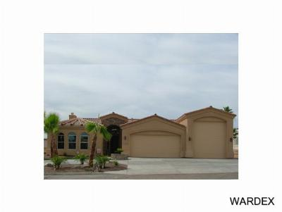 Lake Havasu City Single Family Home For Sale: Hampton Model On Your Lot
