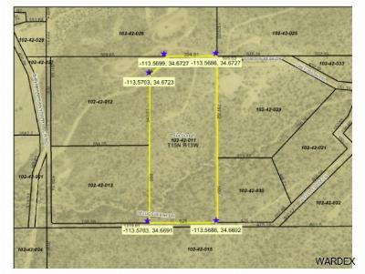 Wikieup Residential Lots & Land For Sale: Un Named