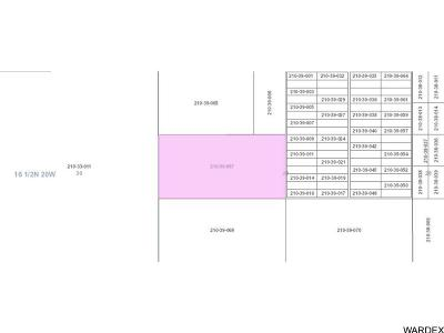 Topock/Golden Shores AZ Residential Lots & Land For Sale: $159,600