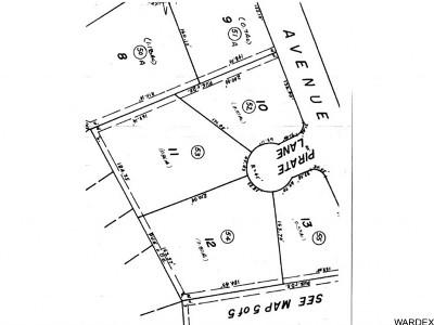 Lake Havasu City Residential Lots & Land For Sale: 1940 Pirate Ln