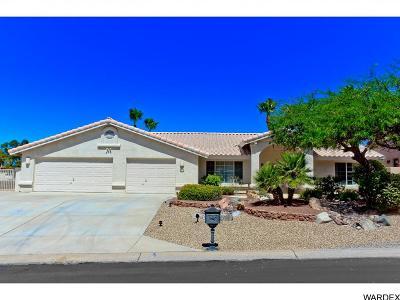 Lake Havasu City AZ Single Family Home For Sale: $555,000