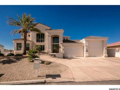 Lake Havasu City AZ Single Family Home For Sale: $695,000