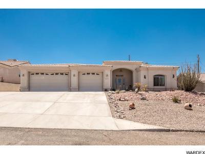 Lake Havasu City AZ Single Family Home For Sale: $383,000