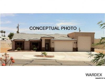 Lake Havasu City Single Family Home For Sale: Sonoma RV Model On Your Level