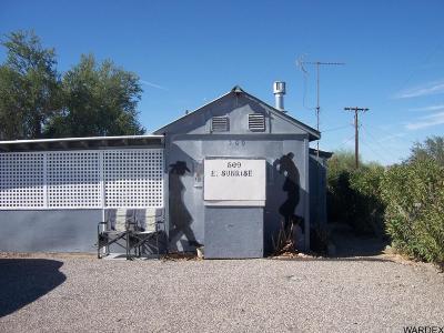 Quartzsite Single Family Home For Sale: 509 E Sunrise