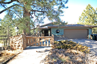 Coconino County Single Family Home For Sale: 5450 N Country Club Drive