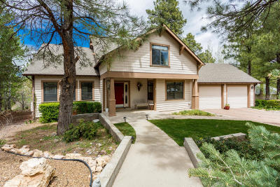 Flagstaff Single Family Home For Sale: 4430 E Moonshadow Lane