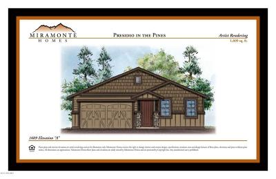 Flagstaff Single Family Home For Sale: 1609 Plan Elevation A, Base Price