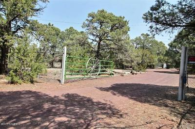 Single Family Home For Sale: 6201 N Cosnino Road
