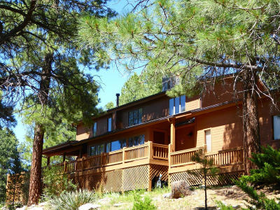 Coconino County Single Family Home For Sale: 4700 Green Mountain Drive