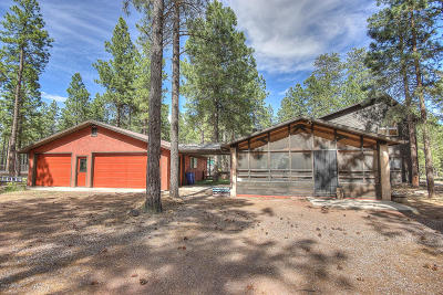 Flagstaff Single Family Home For Sale: 3000 W Pack Trail Drive