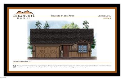 Flagstaff Single Family Home For Sale: 1455 Plan Elevation A, Base Price