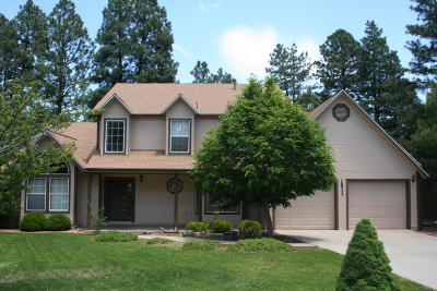 Coconino County Single Family Home For Sale: 1911 W University Heights Drive S