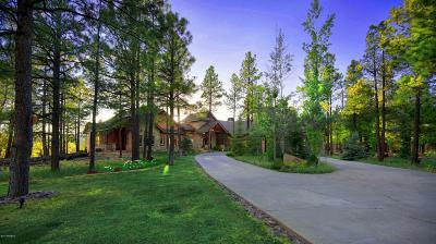 Flagstaff Single Family Home For Sale: 4137 Tocasierra Trail