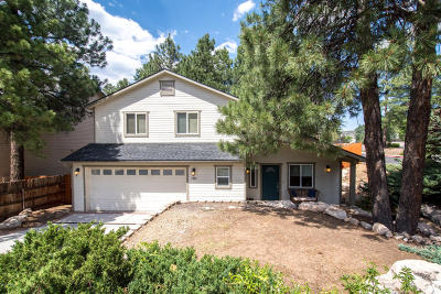 Coconino County Single Family Home For Sale: 3800 S Wagon Trail