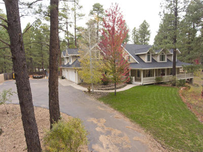 Flagstaff Single Family Home For Sale: 3325 S Little Drive