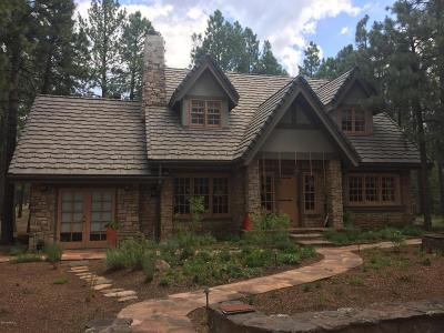 Flagstaff Single Family Home For Sale: 2780 W Forest Hills Drive