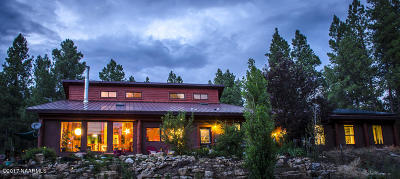 Flagstaff Single Family Home For Sale: 3148 Pioneer Trail