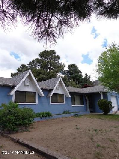 Flagstaff Single Family Home For Sale: 3435 N Pine Drive