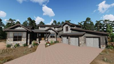 Flagstaff Single Family Home For Sale: 3061 S Solitaires Canyon Drive