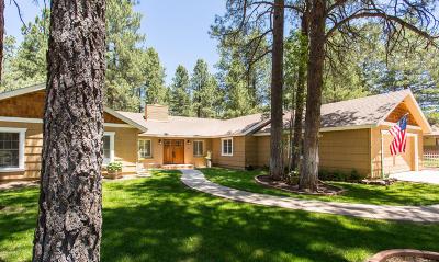 Flagstaff Single Family Home For Sale: 1400 N Rockridge Road