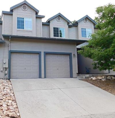 Flagstaff Condo/Townhouse For Sale: 1116 W Overland Pass Drive
