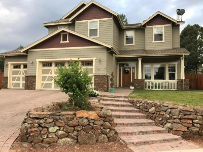 Flagstaff Single Family Home For Sale: 513 W Nugget Trail