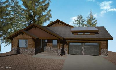 Flagstaff Single Family Home For Sale: 4320 Lariat Loop Loop #Lot 98