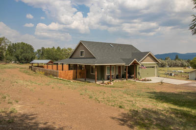 Flagstaff Single Family Home For Sale: 5595 Timberline Trail