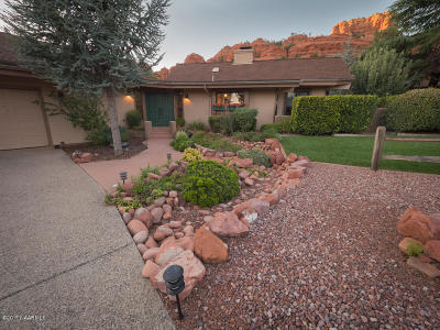 Sedona Single Family Home For Sale: 55 Devils Kitchen Drive