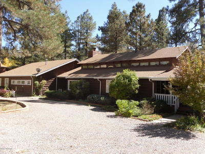 Munds Park Single Family Home For Sale: 695 Stringer Road