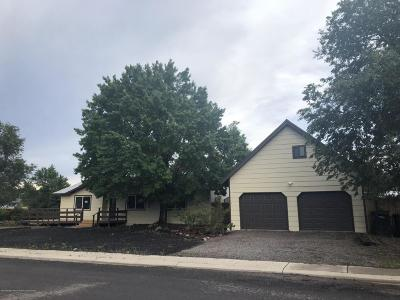 Williams Single Family Home For Sale: 1201 Sheepmans Drive