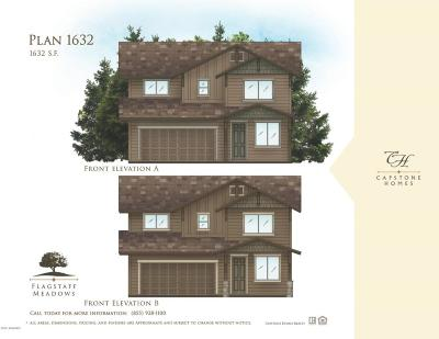 Bellemont Single Family Home For Sale: Plan 1632 Flagstaff Meadows