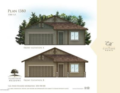 Bellemont Single Family Home For Sale: Plan 1380 Flagstaff Meadows