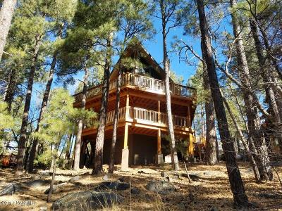 Coconino County Single Family Home For Sale: 95 W Campfire Trail