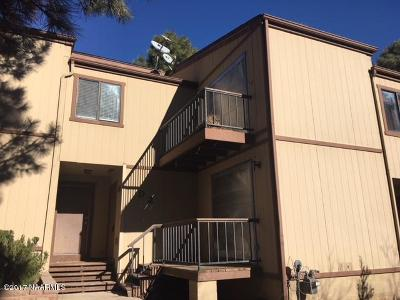 Coconino County Condo/Townhouse For Sale: 3850 N Fanning Drive #D2