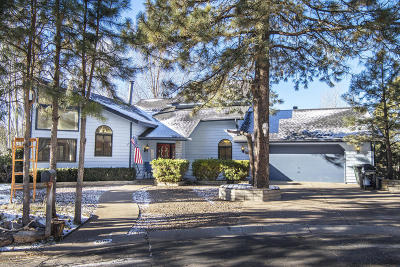 Flagstaff Single Family Home For Sale: 4300 E Rustic Knolls Lane