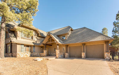 Flagstaff Single Family Home For Sale: 1707 E Trade Winds Court