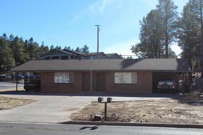 Flagstaff Multi Family Home For Sale: 691 E Zuni Drive