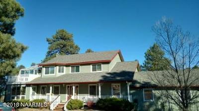 Flagstaff Single Family Home For Sale: 9655 Saddle Horse Ranch Road