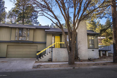Flagstaff Multi Family Home For Sale: 121,  123 S Spring Street
