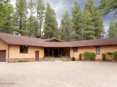 Coconino County Single Family Home For Sale: 790 E Pinewood Boulevard