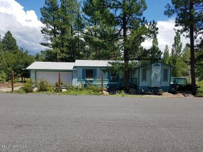 Coconino County Mobile/Manufactured For Sale: 17105 Wintergreen Drive
